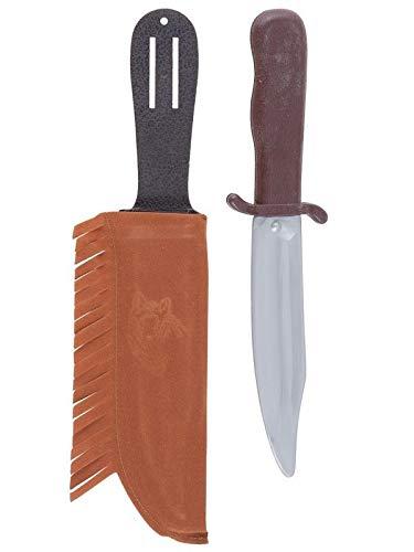 DISBACANAL Cuchillo Indio con Funda