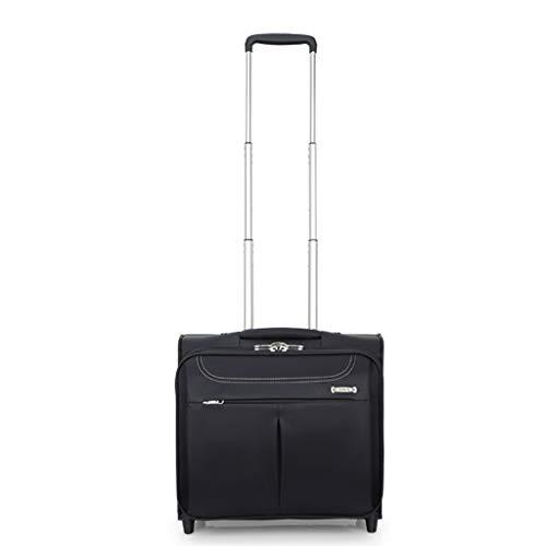 Aktenkoffer Mit Rädern Laptop-taschen (Laptop-Trolley-Tasche mit Rad, Leichter und robuster Laptop mit Rädern, Aktentasche, kompakte Overnighter-Reisetaschen, Gepäcktrolley)