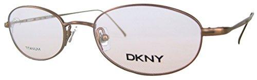 DKNY Donna Karan Herren / Damen Brille, Lesebrille & GRATIS Fall 6614 200 Braun (49-19-135)