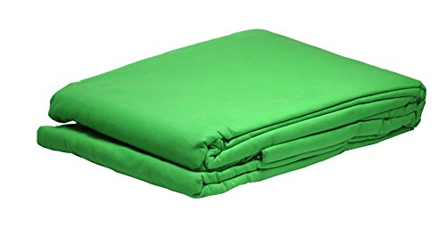 Bresser Y-9 Background Cloth 3x6m chromakey green