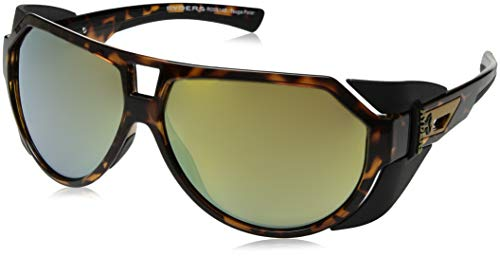 Ryders Eyewear Polarisierte Sonnenbrillen Tsuga in schildpatt R00514E One Size Brown Yellow Flash Mirror Polarised