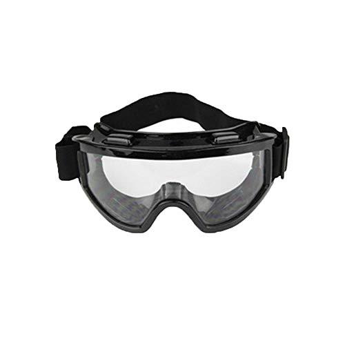 HEXUAN Occhiali Moto Occhiali Casco Fuoristrada Occhiali da Sci Antivento Occhialini da Ciclismo