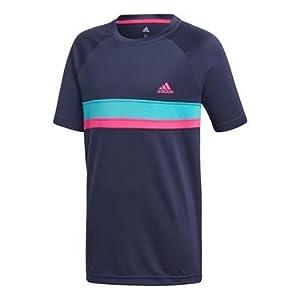 adidas Jungen Club Colorblock Kurzarm T-Shirt