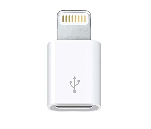 AVMART iPhone 6 6 plus/5s/5c/5 Micro USB to 8 pin Data/sync Charger Adaptor Also Compatible with ipad Mini, ipad & iPod