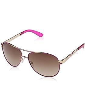 Guess GF0282, Gafas de Sol para Mujer, Dorado (Rosa/Oro), 61