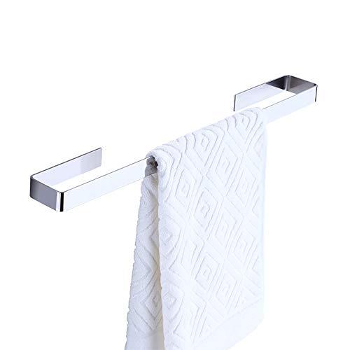 Gjrff Handtuchhalter Nagelfreier Handtuchhalter aus Edelstahl 304 Free Punching Bathroom Hanging Towel Bar Bathroom Single Pole (Size : A 30CM) (30 Bronze Handtuchhalter Eingerieben öl)