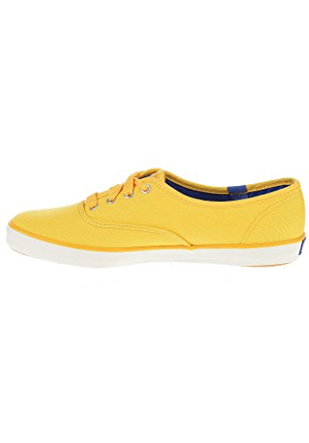 Keds Champion Polka Dot Lace Sneaker Mustard Yello Yellow