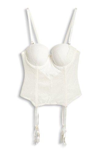 ESPRIT Collection Damen Schalen Korsage FEEL SPECIAL Beige (vanilla white)