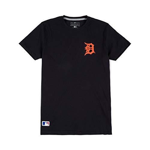 New Era Detroit Tigers Crossed Bats MLB T-Shirt Navy, M (Kleidung Detroit Tigers)