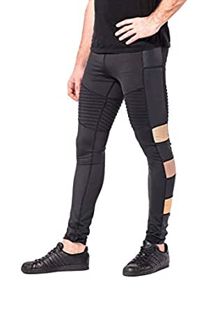 a1628655490 Kapow Meggings Colourful Sports Compression Mens Leggings, Cool Dry ...