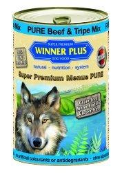 Winner Plus umido cane puro manzo e trippa mix 400gr
