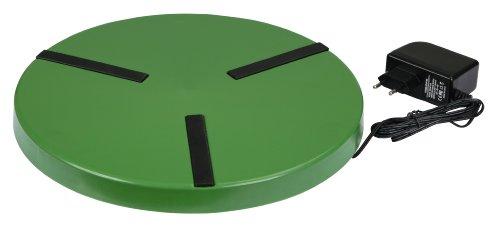 Kerbl 70237 Heizplatte für Geflügeltränken ø 300 mm, 24 V, 22 W, mit Netzteil