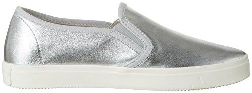 Marc O'Polo - 70213943502110 Sneaker, Scarpe da ginnastica Donna Argento (Silver)
