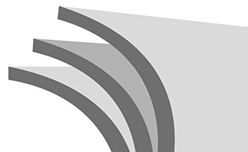 ivolum Rolloleinwand 240 x 180cm Nutzfläche   Format 4:3 - 8