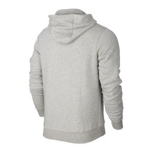 Nike Jungen Kapuzenpullover Team Club, Grau (Grey Heather/football White), M