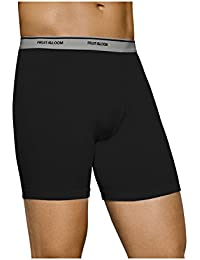 Fruit Of The Loom Mens Assorted Boxer Briefs 4 Pack