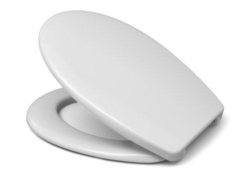 Hamberger WC-Sitz Fago mit Mylon-FastFixmutter I0101Y weiß 527654