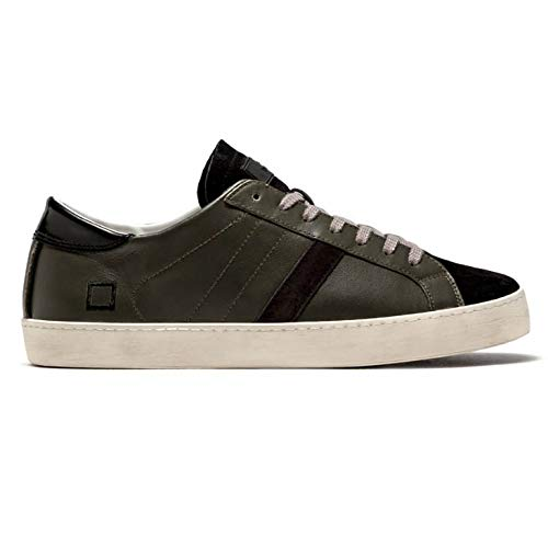 Date sneakers uomo basse verdi (40 eu)