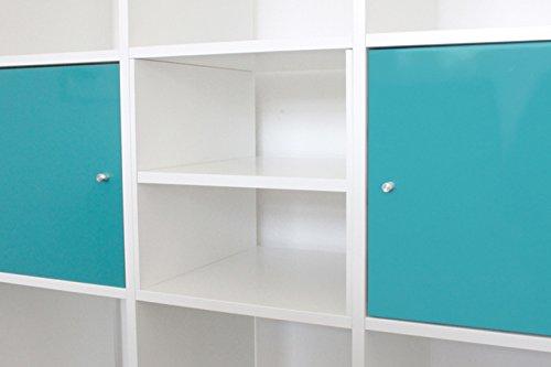 Extra Fach für Ikea Kallax Regal (weiß)