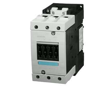 SIEMENS SIRIUS - CONTACTOR AC-3 30KW/400V CORRIENTE CONTINUA 230V 3 POLOS S3 TORNILLO