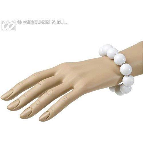 Lively Moments Geniales Perlenarmband in Weiß im Stil der 50er bis 70er Jahre