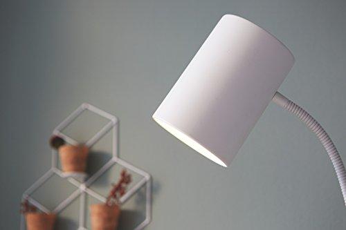 Philips-myLiving-Himroo-Lmpara-de-pie-con-cabezal-flexible-para-dormitorio-o-saln-casquillo-gordo-E27-bombilla-no-incluida