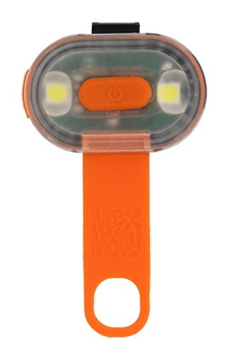 Max & Molly Ultimate Qualität Pets Ultra Sicherheit Wasserdicht LED, orange