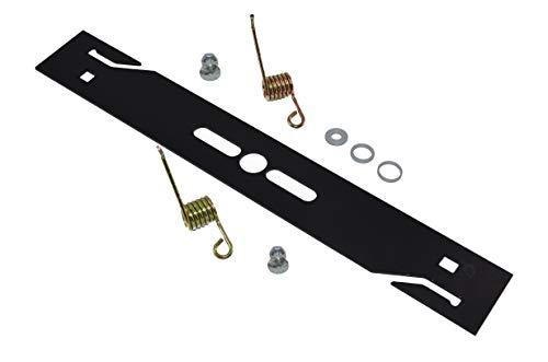 lame de scarificateur pour / lame pour tondeuses / Détecteur de mousse + 2 X ressort durci