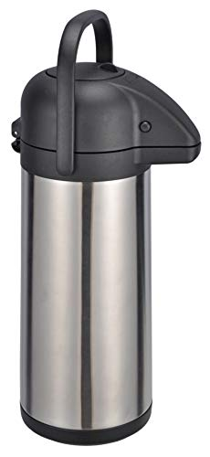 Airpot 3,0 L Pumpkanne Isolierkanne Thermo Kanne Kaffeekanne Camping Edelstahl