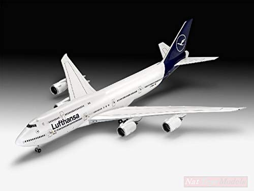 Revell RV03891 Boeing 747-8 Lufthansa New Livery KIT 1:144 MODELLINO Model kompatibel mit (Kits 1 144 Revell Model)