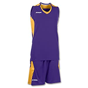 JOMA SET BASKET SPACE PURPLE–GOLD SLEEVELESS W. XS