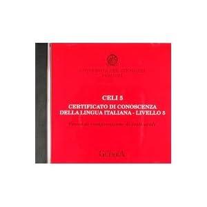 Celi 5. Certificato di conoscenza della lingua ita