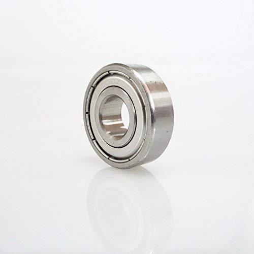 Radial Edelstahl 440C Kugellager 10 x 26 x 8 mm geschlossen partCore S6000ZZ 180072 -