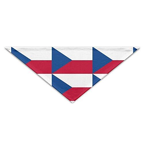Pet Bandanas Tschechische Republik Flag Dog Bandanas Schals Lätzchen Schals Neuheit Basic Dogs Halstuch Cat Collars - Tschechische Kostüm