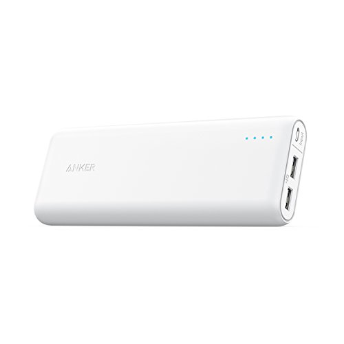 Anker PowerCore A1271021 20100mAH Portable Charger (White)