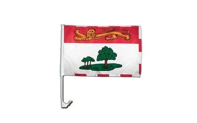 Flaggenfritze Autofahne Autoflagge Kanada Prinz Edward Inseln - 30 x 40 cm (Autofahne Kanada)