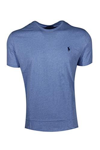 Polo Ralph Lauren Herren T-Shirt Pony Logo Rundhals - blau - X-Groß