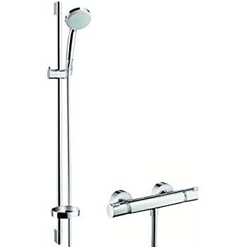 hansgrohe ensemble de douche croma 100 vario avec mitigeur. Black Bedroom Furniture Sets. Home Design Ideas