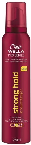 Wella ProSeries Schaumfestiger Strong, 3er Pack (3 x 250 ml)