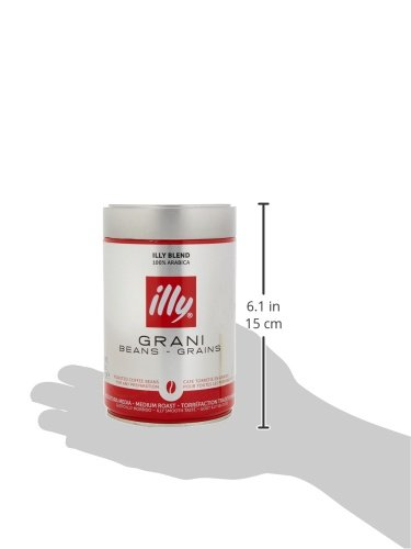 illy Classico Medium Roast Coffee Beans, 250g