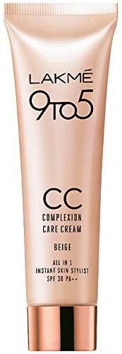 Lakme 9 to 5 Complexion Care Cream, Beige 9 ml
