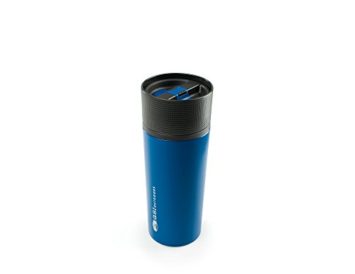 GSI Outdoors Stainless Vacuum Coffee Mug Pot, Mixte Adulte, Bleu, Taille Unique