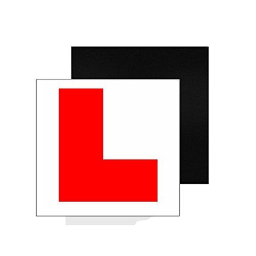 dreamflying 217,8cm x 17,8cm Magnetschilder Learner Aufkleber L Teller für neue Fahrer Sicherheit–Rot Sicherheit Fahrer