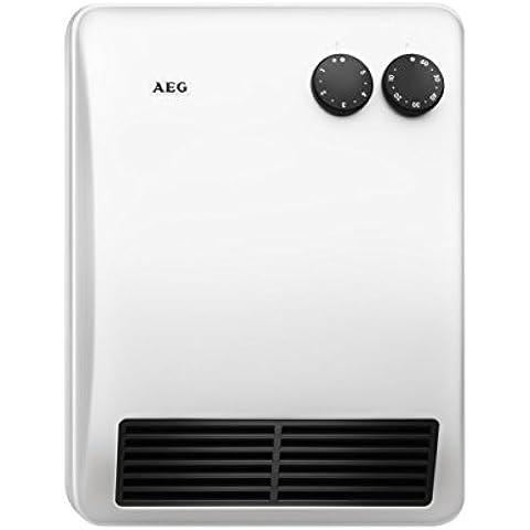 AEG 184398 VH 227 - Calefactor con temporizador de 60 minutos (2000 W, 230 V), color blanco