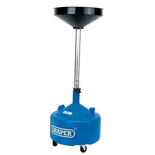 Draper Tools Dispositif de vidange d'huile télescopique de 30 l Draper 23612, Blue
