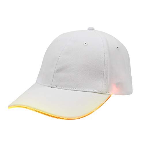 Yvelands LED beleuchtet Baseballmütze Hut Glow Club Party -
