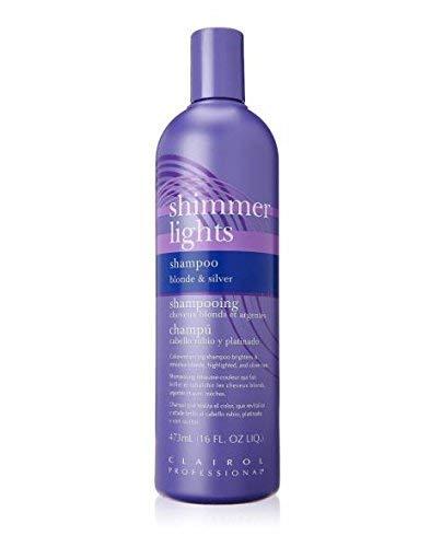 Clairol Silver Shampoo (Clairol Shimmer Lights Shampoo, Blond und Silber 473 ml)