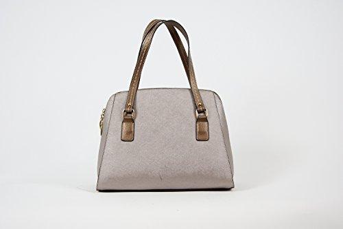 Tasche Damentasche Abendtasche Luxus Taymir Uni 2 Jahre Garantie versch. Farben Grau-Gold