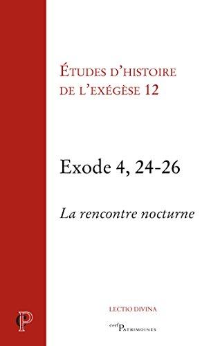 Exode 4, 24-26 (Cerf-Patrimoines)