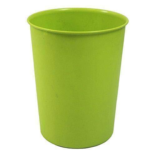 Hacoly Papierkorb Kunststoff Hoch Papiereimer Papierkörbe Mülleimer Convenient Durable Müllkorb für Büro Badezimmer Wohnzimmer Abfalleimer - Grün
